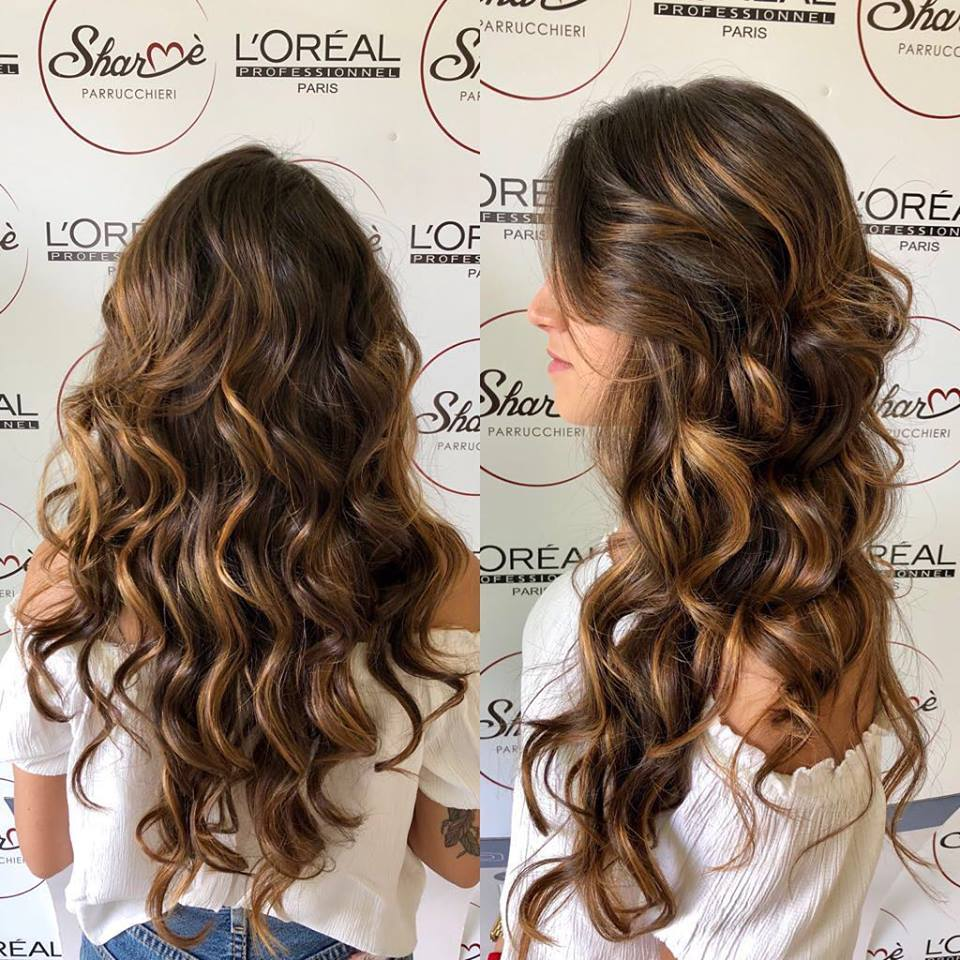 capelli ondulati sharmè parrucchieri giarre